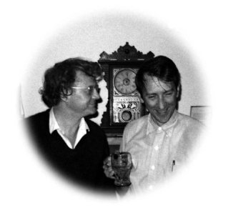 Bonnier: Tomas Tranströmer, right, with Robert Bly in Madison, Minn., in October 1971.